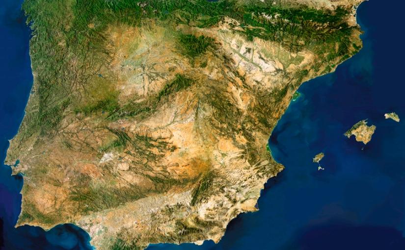Conociendo la Península Ibérica por los cuatro costados (I). Elrelieve.